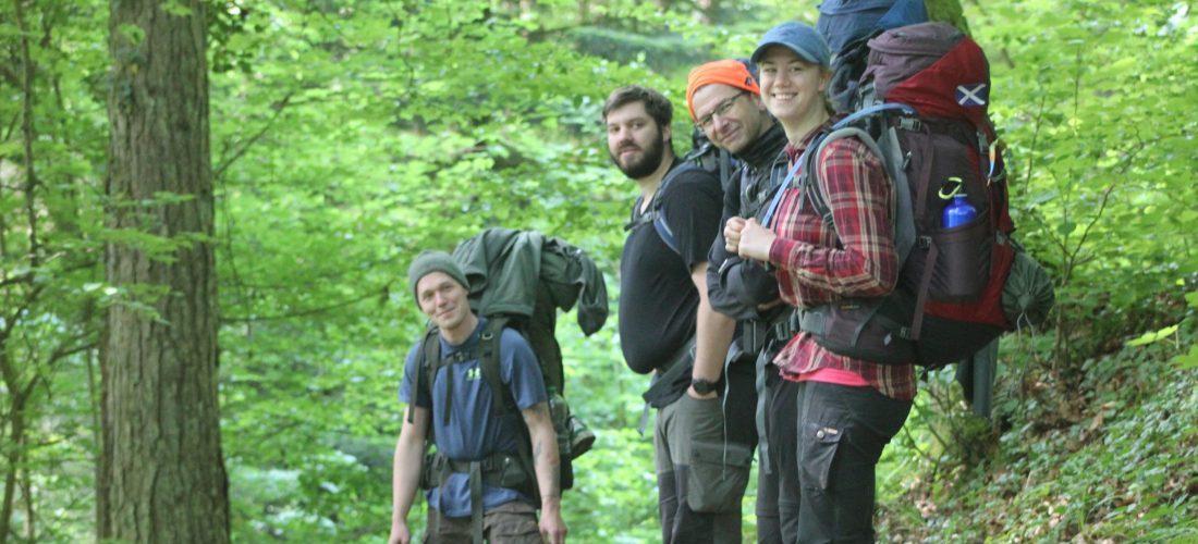 Trekking Guides in Ausbildung