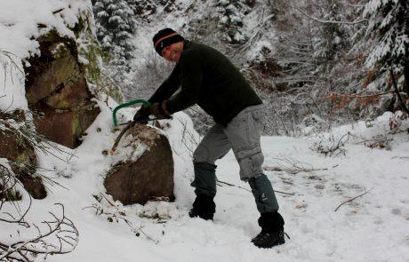 Campleben im Winter